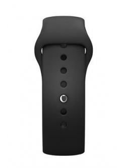 Ремешок Sport Band Black with Space Black Pin for Apple Watch 38mm (MJ4F2)