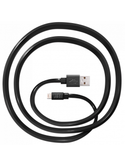 JUST Freedom Lightning USB (MFI) Cable Black (LGTNG-FRDM-BLCK)