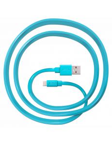 JUST Freedom Lightning USB (MFI) Cable Blue (LGTNG-FRDM-BL)