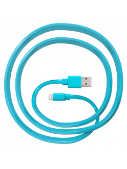 JUST Freedom Lightning USB (MFI) Cable Blue (LGTNG-FRDM-BL)