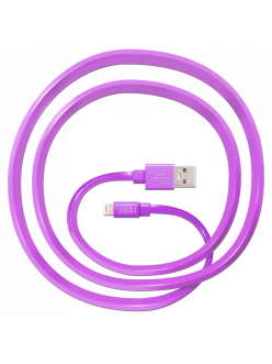 JUST Freedom Lightning USB (MFI) Cable Pink (LGTNG-FRDM-PNK)