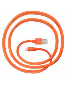 JUST Freedom Lightning USB (MFI) Cable Orange (LGTNG-FRDM-RNG)