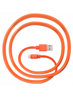 JUST Freedom Lightning USB (MFI) Cable Orange (LGTNG-FRDM-RNG)