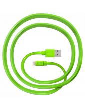 JUST Freedom Lightning USB (MFI) Cable Green (LGTNG-FRDM-GRN)
