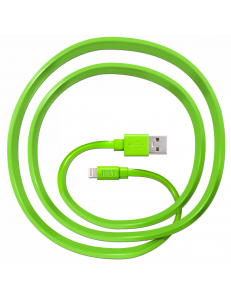JUST Freedom Lightning USB (MFI) Cable Green (LGTNG-FRDM-GRN)