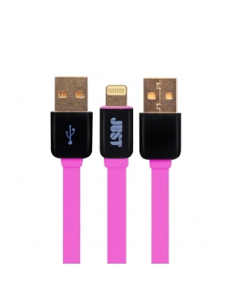 JUST Rainbow Lightning USB Cable Pink (LGTNG-RNBW-PNK)