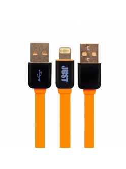 JUST Rainbow Lightning USB Cable Orange (LGTNG-RNBW-RNG)