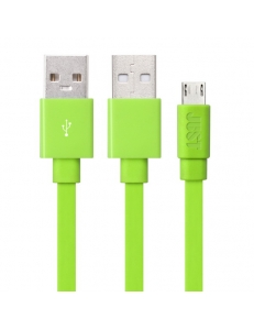 JUST Rainbow Lightning USB Cable Green (LGTNG-RNBW-GRN)