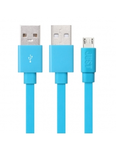JUST Rainbow Lightning USB Cable Blue (LGTNG-RNBW-BL)