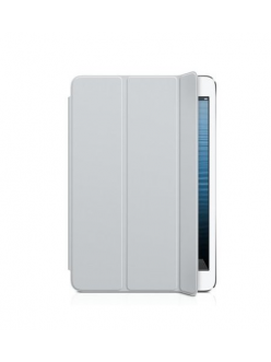 Чехол Apple Smart Cover Polyurethane Light Gray (MD967) for iPad mini Retina