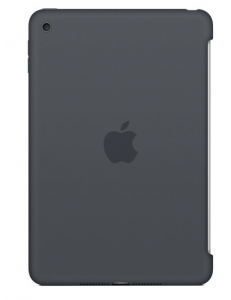Чехол Apple Silicone Case Charcoal Gray (MKLK2ZM/A) for iPad mini 4