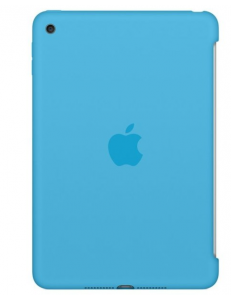 Чехол Apple Silicone Case Blue (MLD32ZM/A) for iPad mini 4