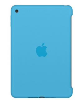 Чехол Apple Silicone Case Blue (MLD32ZM/A) for iPad mini 4