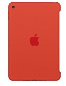 Чехол Apple Silicone Case Orange (MLD42ZM/A) for iPad mini 4