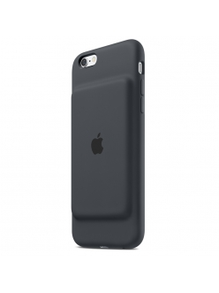 Apple iPhone 6 / 6s Smart Battery Case - Charcoal Grey