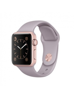 Apple Watch Sport 38mm Levender Sport Band Rose Gold (MLCH2)