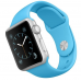 Apple Watch Sport 38mm Silver Case with New Blue Sport Band (MLCG2)