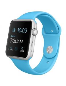 Apple Watch Sport 42mm Blue Sport Band Silver (MLC52)