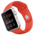 Apple Watch Sport 42mm Orange Sport Band Silver (MLC42)