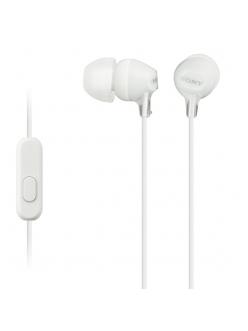 Наушники SONY MDR-EX15AP White