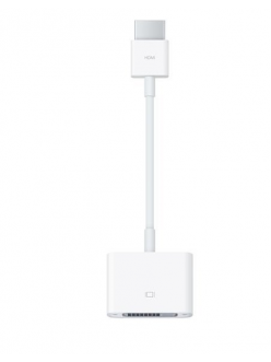 Адаптер Apple HDMI to DVI (MJVU2ZM/A)