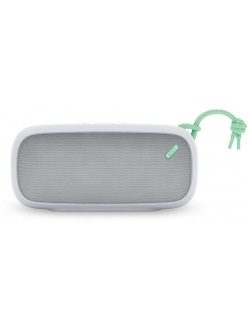 Nude Audio Portable Bluetooth Speaker Move L Light Grey/Mint (PS004MTG)