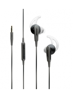 Bose SoundSport in-ear headphones – Apple devices Charcoal