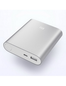 XIAOMI Mi Power Bank 10400 mAh (2.1A, 1USB) Silver (NDY-02-AD-SL)