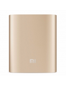 XIAOMI Mi Power Bank 10000 mAh (2.1A, 1USB) Gold (NDY-02-AN-GL)