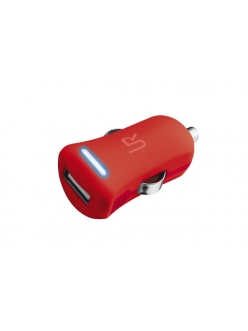 Trust Smartphone Car Charger - red