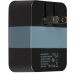 Tylt Wall Travel Charger 4,2A Dual USB Port Black-Gray (USBTC42BL-EUK)