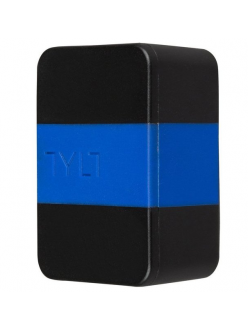 Tylt Wall Travel Charger 4,2A Dual USB Port Black-Blue (USBTC42BL-EUK)