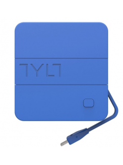 Tylt Energi 6K+ Smart Travel Charger + PowerBank 6000mAh with Lightning cable Blue (IP5NRG6TCBL-EUK)