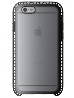 Чехол Lunatik SEISMIK Black/Clear (SMK6-4701) for iPhone 6/6s