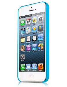 ITSKINS ZERO.3 for iPhone 5/5S/SE Blue (APH5-ZERO3-BLUE)