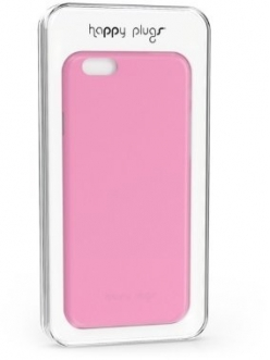 Happy Plugs Ultra Thin Case Pink for iPhone 6/6S (8862)