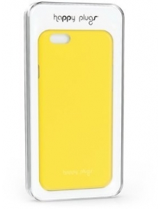 Happy Plugs Ultra Thin Case Yellow for iPhone 6/6S (8865)