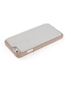 Element Case Soft-Tec White/Gold for iPhone 6/6S (EMT-0050)