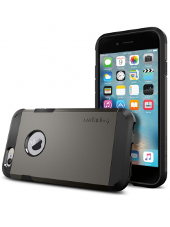 Spigen Case Tough Armor Gun Metal for iPhone 6/6S (SGP11612)