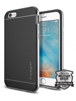Spigen Case Neo Hybrid Satin Silver for iPhone 6/6S (SGP11620)