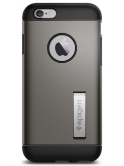 Spigen Case Slim Armor Gun Metal for iPhone 6/6S (SGP11605)
