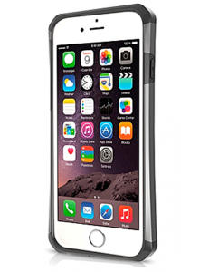 ITSKINS Dual Protection Case for iPhone 6/6S Silver Black (AP6S-EVLTN-SPGY)
