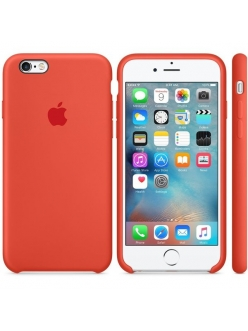 iPhone 6s Silicone Case Orange