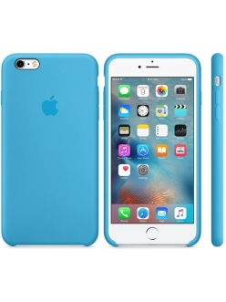 iPhone 6s Plus Silicone Case Blue