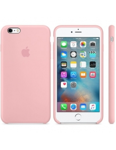 iPhone 6s Plus Silicone Case Pink