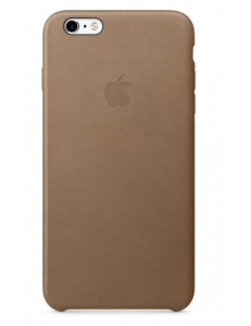 Чехол Apple Leather Case Brown (MKX92) for iPhone 6s Plus