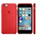 Чехол Apple Silicone Case (PRODUCT) RED (MKY32ZM/A) for iPhone 6s