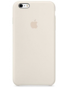 Чехол Apple Silicone Case Antique White (MLD22) for iPhone 6s Plus