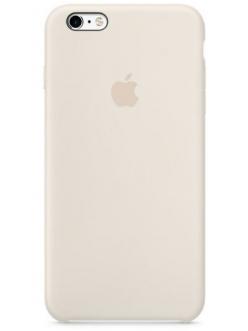 Чехол Apple Silicone Case Antique White (MLD22) for iPhone 6s Plus