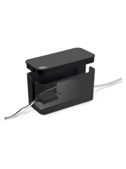 Бокс для проводов Bluelounge CableBox Mini Cable Management Box Black (CBM-BL)